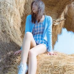蓝天,白云,草原。来一次放飞自我吧