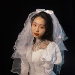 复古婚纱!