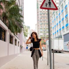 街拍香港人像