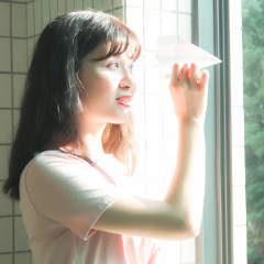 小清新日系写真个人艺术照